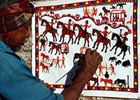 Pithora Painting-Champaner-Vadodara