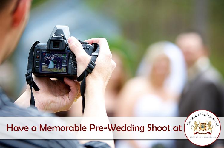 Have a Memorable Pre-Wedding Shoot at Champaner Heritage Resort